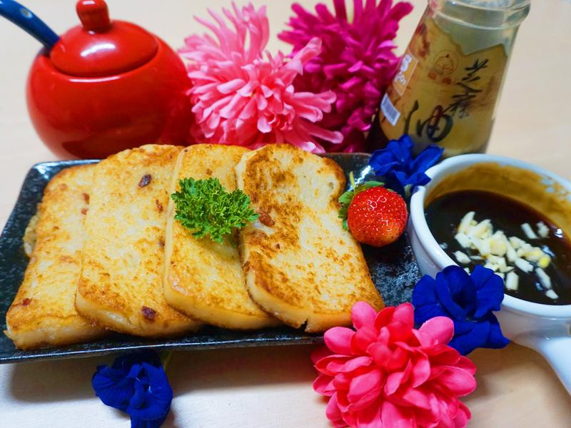香煎酥脆蘿蔔糕~【福壽純芝麻油玩料理】