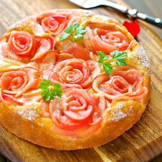 【Tomiz小食堂】肉桂蘋果花蛋糕