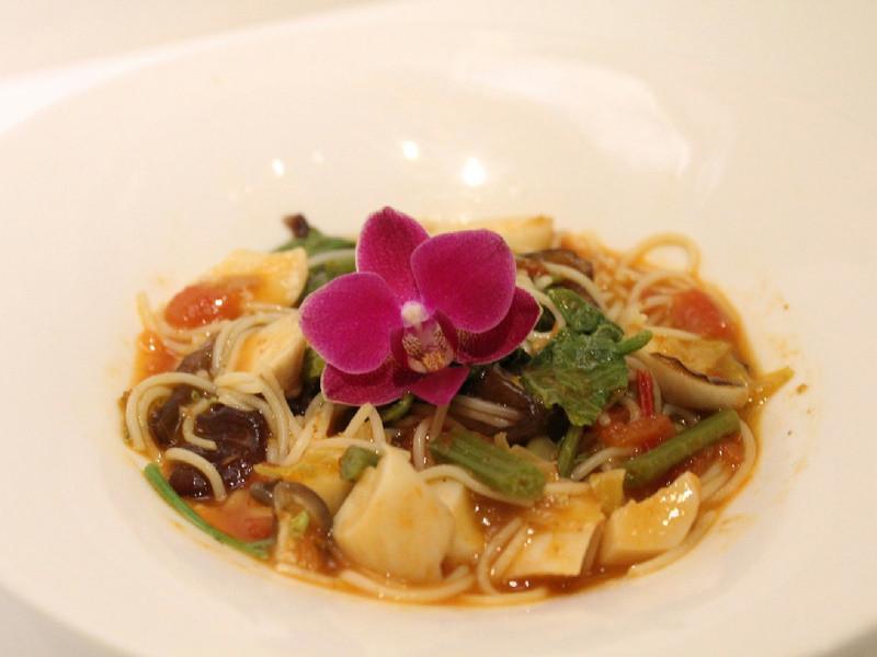 【簡單做菜】(素)野菇鮮蔬義大利麵