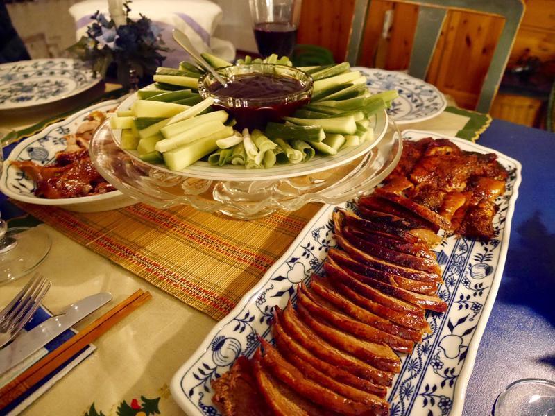 北京烤鴨。一鴨兩吃 - 完美聖誕大餐