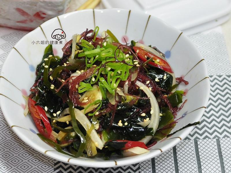 冷拌南極海藻菜【福壽純芝麻油玩料理】