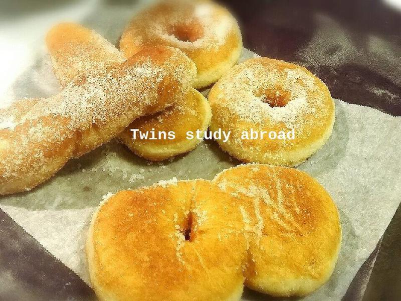 炸雙胞胎 甜甜圈 麻花甜甜圈