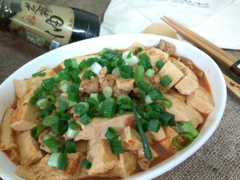 十分鐘簡易麻婆燒豆腐─福壽純芝麻油玩料理