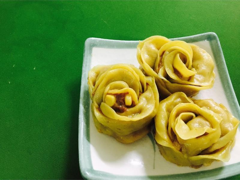 干藷玫瑰餃