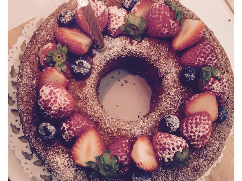 奢華登場!充滿愛的華麗戚風蛋糕
