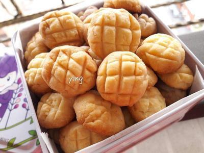 3樣食材-迷你菠蘿煉乳餅乾