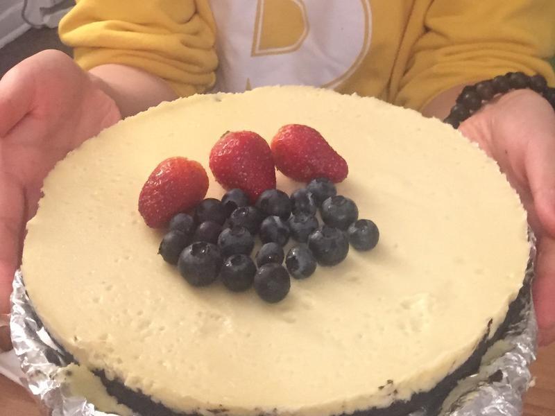 簡單奧利奧芝士蛋糕