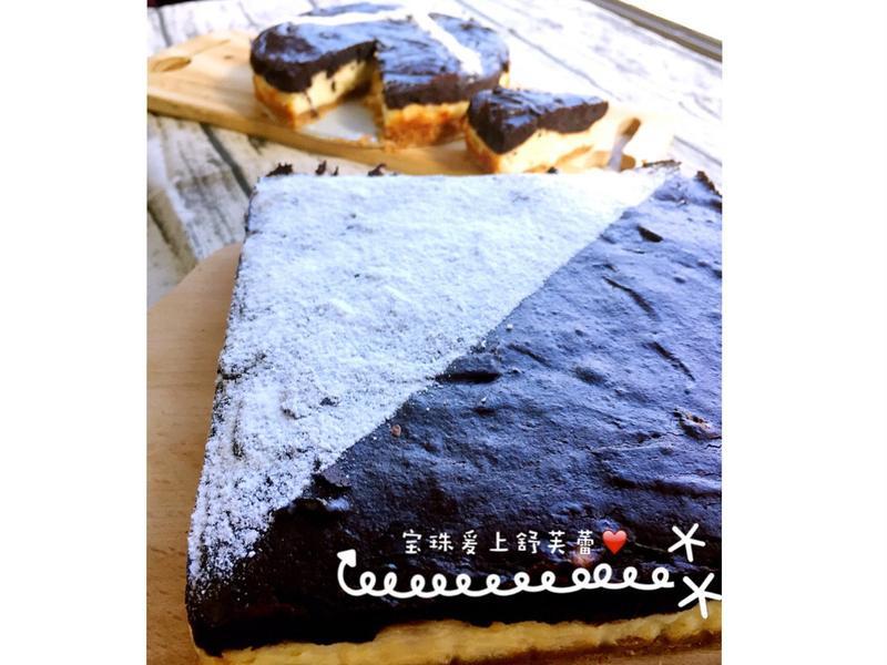 布朗尼雙層蛋糕