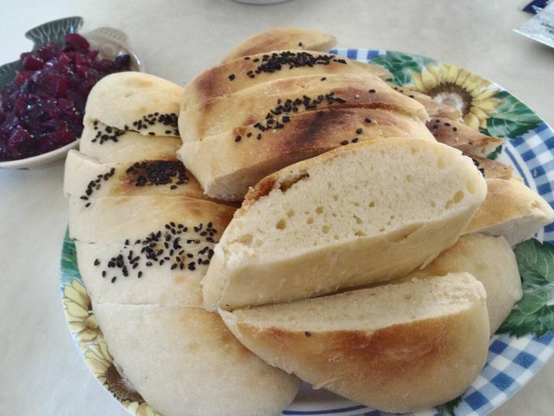 芝麻蜂蜜麵包~水合折疊法