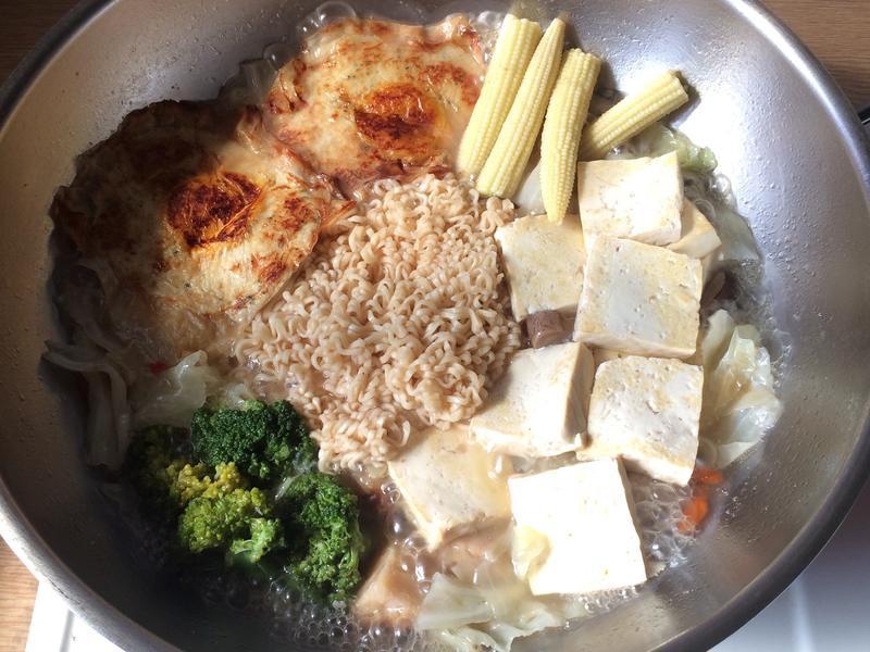 素食㊣麻油猴頭菇鍋