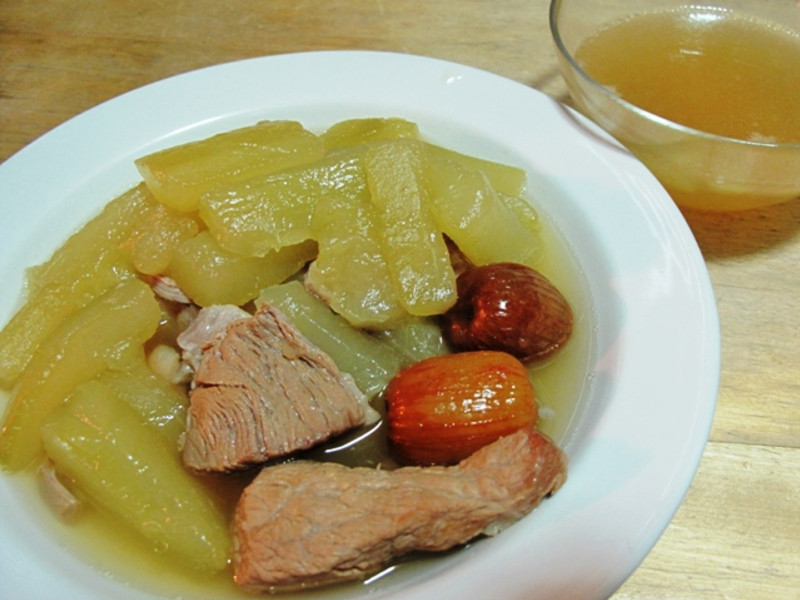 *Re*煲湯-大黃瓜瘦肉湯