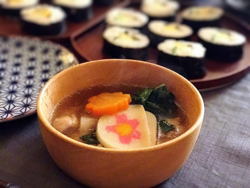 東京風雞肉雜煮湯(露營ok)