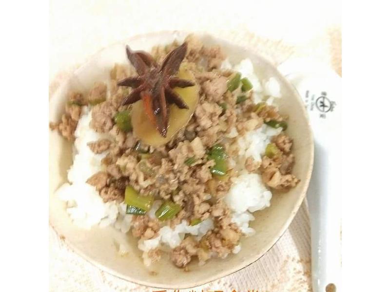 炸醬飯  (福壽純芝麻油玩料理)