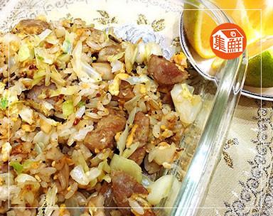 【集鮮屋】香腸蛋炒飯