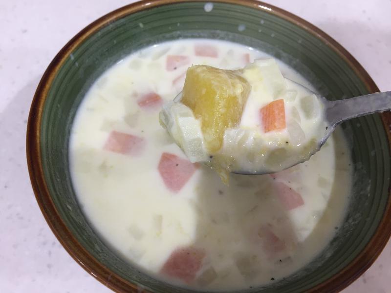 【瘦身料理】地瓜濃湯