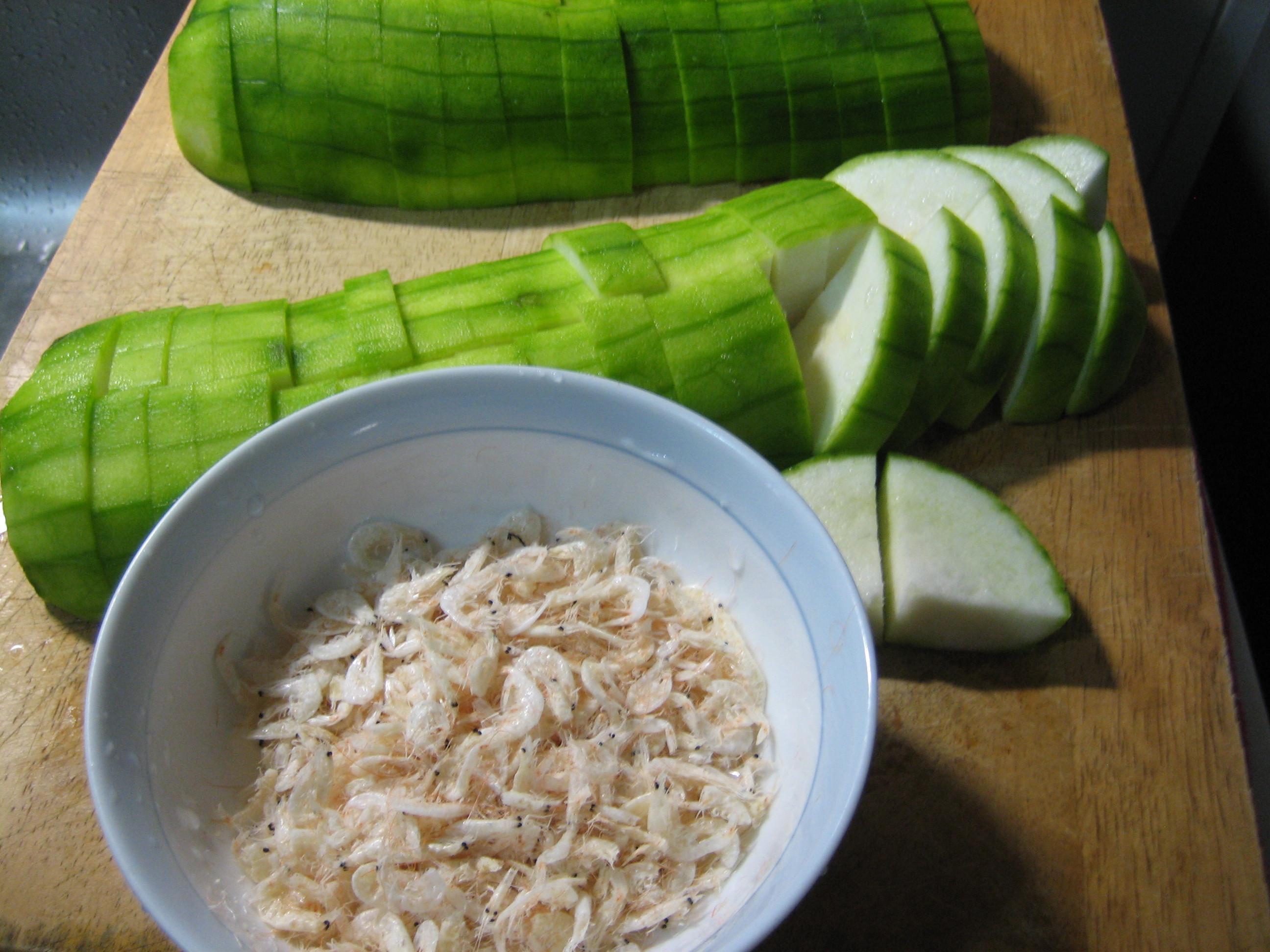 絲瓜 炒絲瓜 蝦皮(白蝦米)炒絲瓜