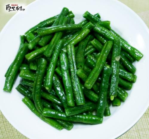 【厚生廚房】蒜炒菜豆