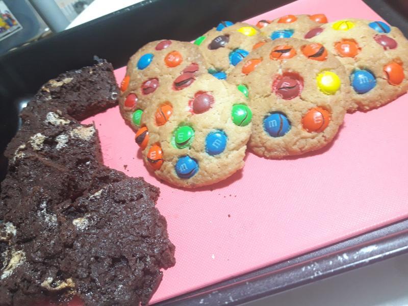 美式餅乾♡MM巧克力口味&棉花糖口味