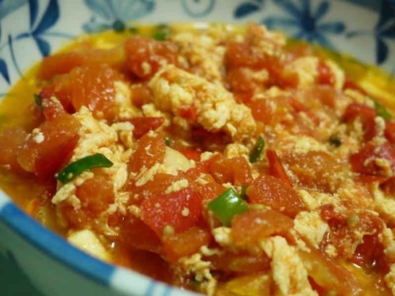 力力隨意煮-滑蛋番茄