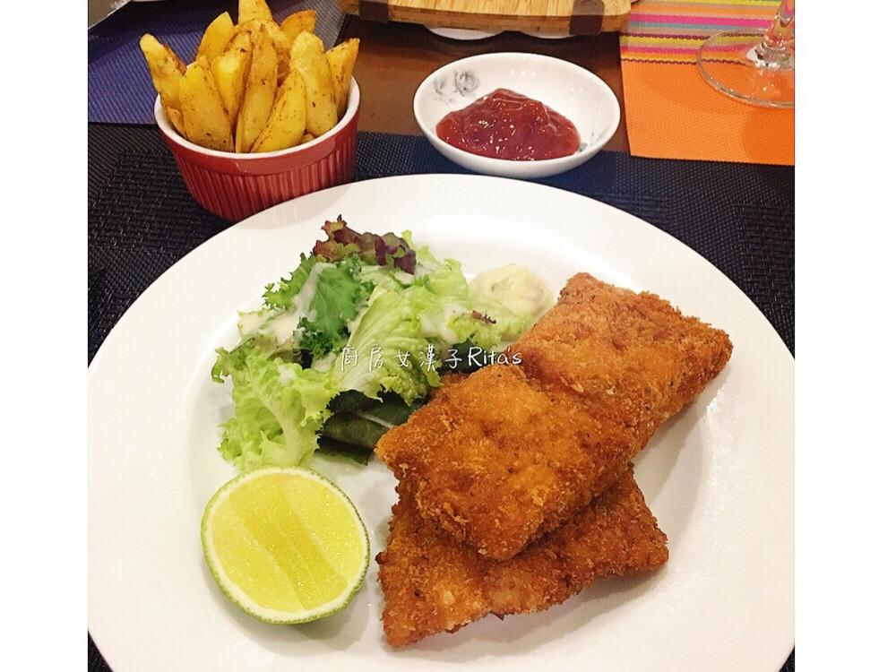 Fish &chips 炸魚和烤薯條