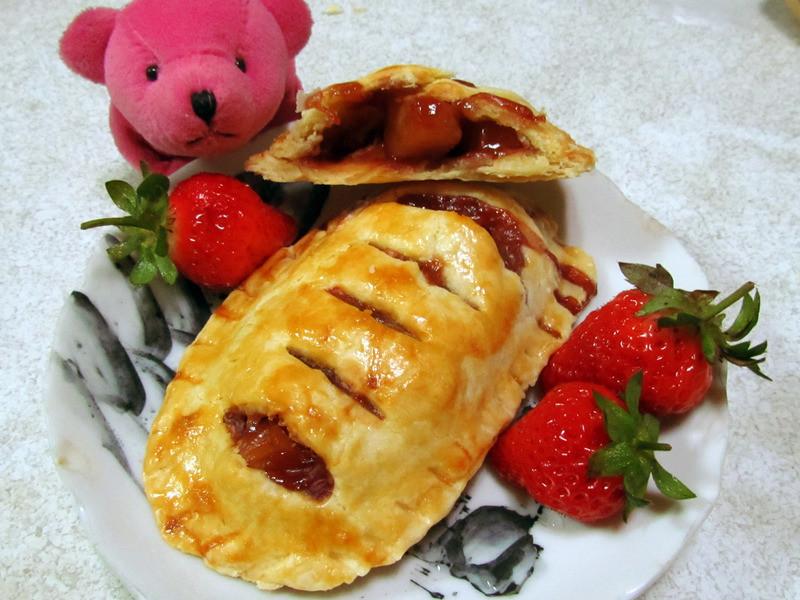 甜蜜蜜草莓蘋果派♥Oly*
