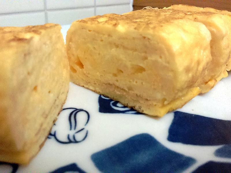 雞蛋豆腐玉子燒(平底鍋也能做!)