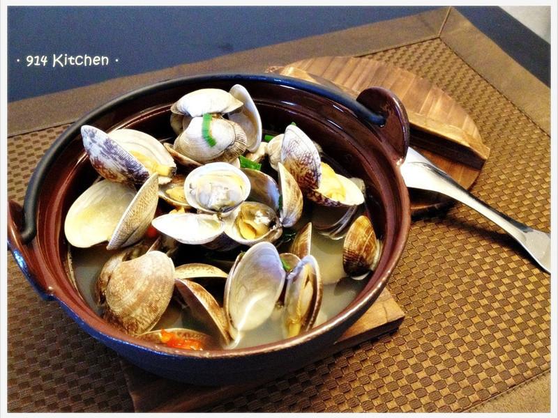 【深夜食堂】 酒蒸蛤蜊進階版