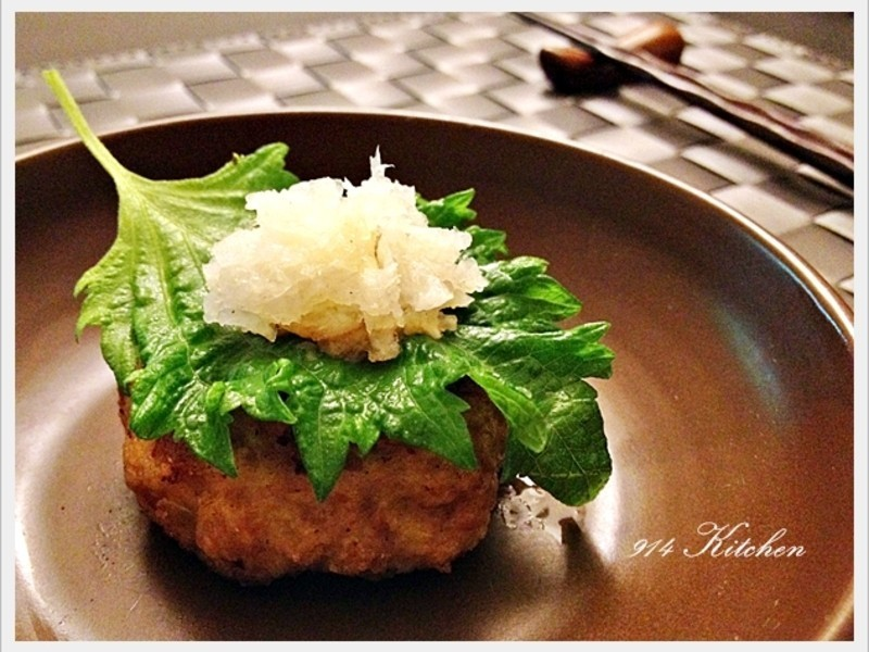【深夜食堂】蘿蔔泥漢堡肉