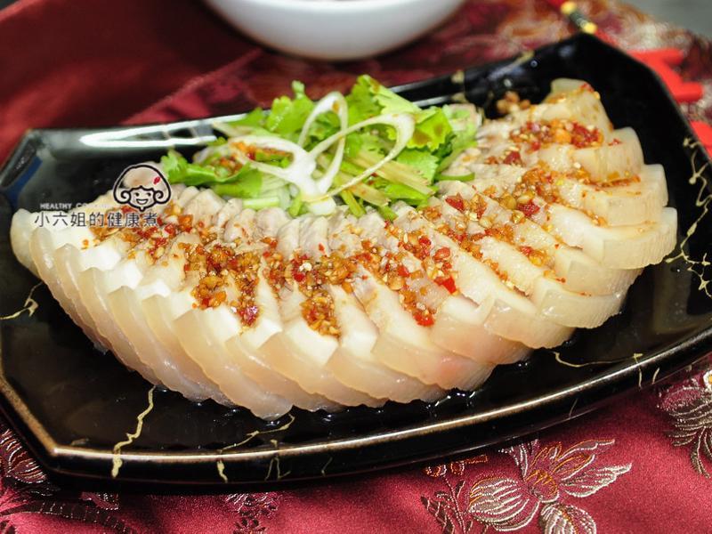 蒜泥白肉(年菜料理)