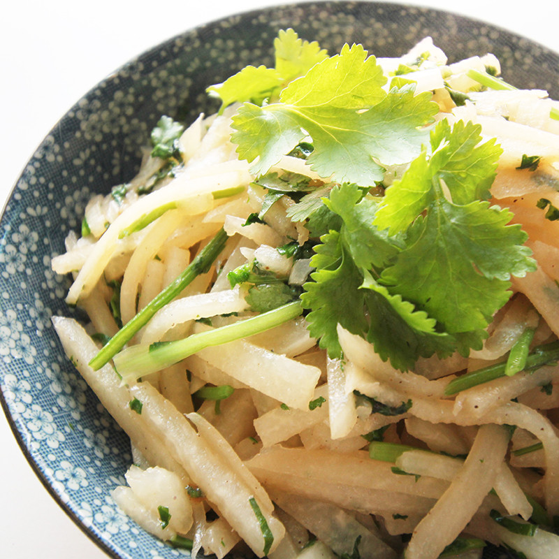 【厚生廚房】芫爆豆薯絲