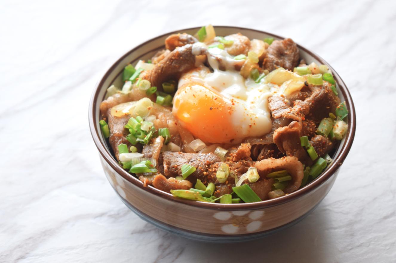 10分鐘料理 - 羊肉蓋飯