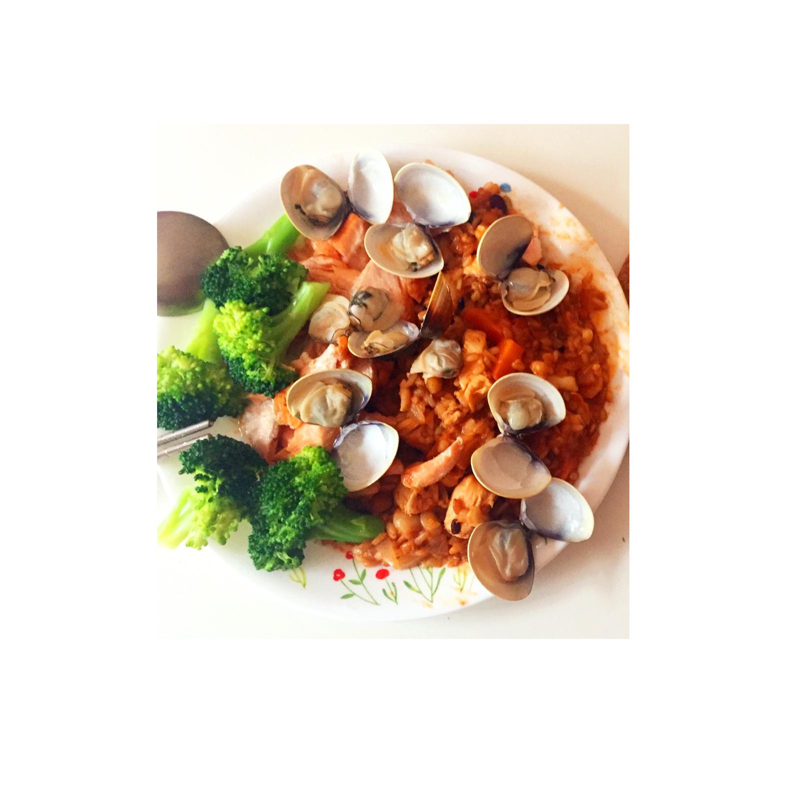 茄汁海鮮燉飯
