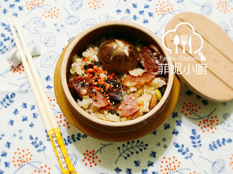 【菲妮小廚】臘腸炊飯