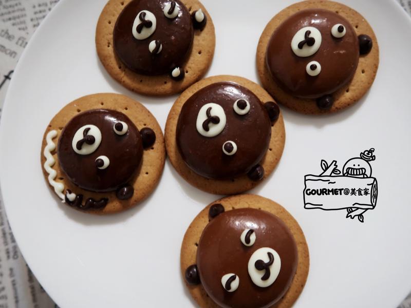 造型巧克力棉花糖餅乾(附製作影音)