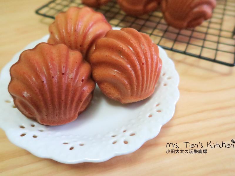 蜂蜜檸檬瑪德蓮~焦化奶油配方好好粗