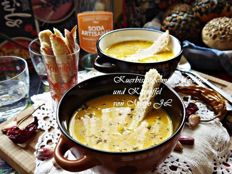 南瓜胡蘿蔔和馬鈴薯濃湯