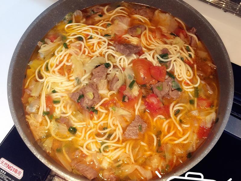 🍅番茄牛肉麵🍅