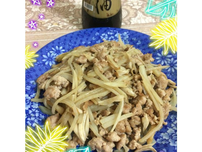 麻油土豆杏飽菇