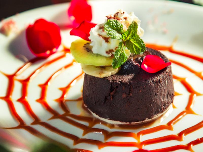 熔漿巧克力蛋糕
