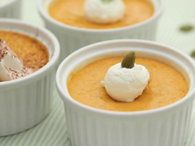 【Tomiz小食堂】南瓜焦糖法式烤布蕾