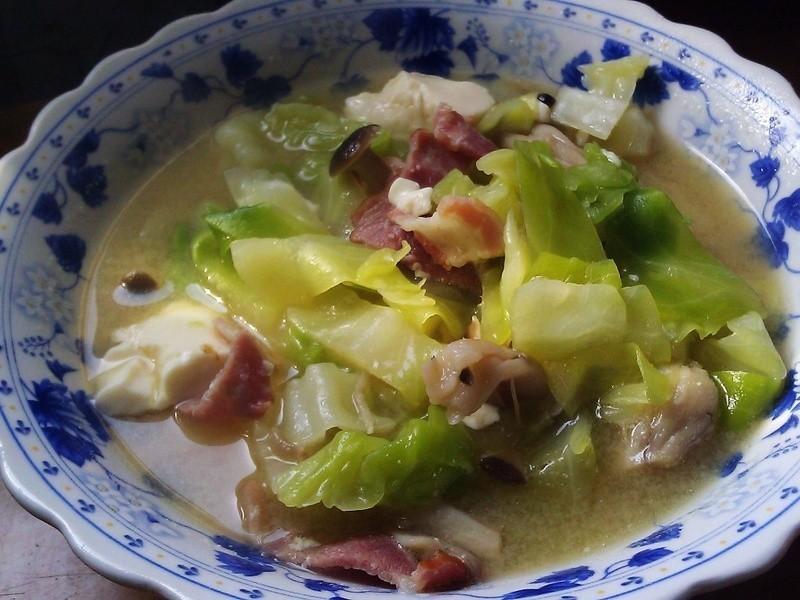 [深夜食堂-Like] 豚汁定食(豬肉味噌湯)
