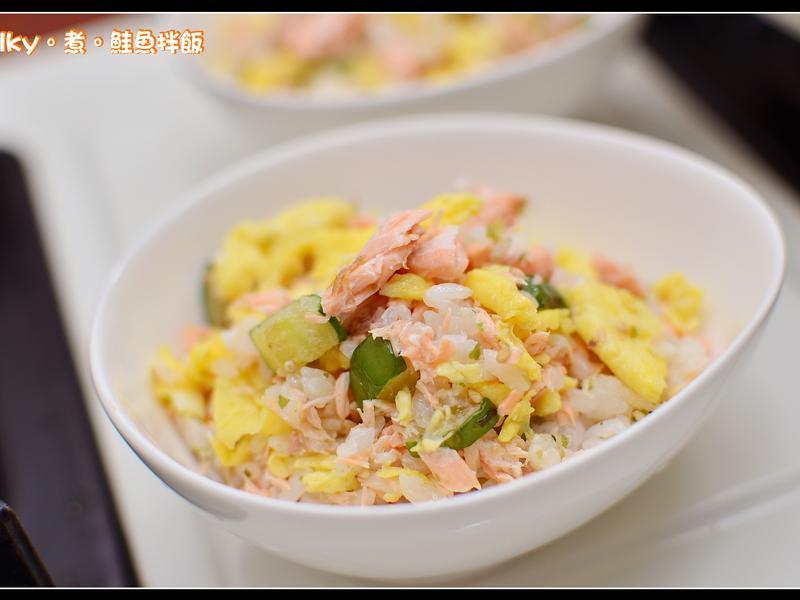 親子料理 - 鮭魚拌飯