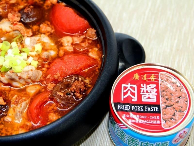 蕃茄肉醬排骨湯