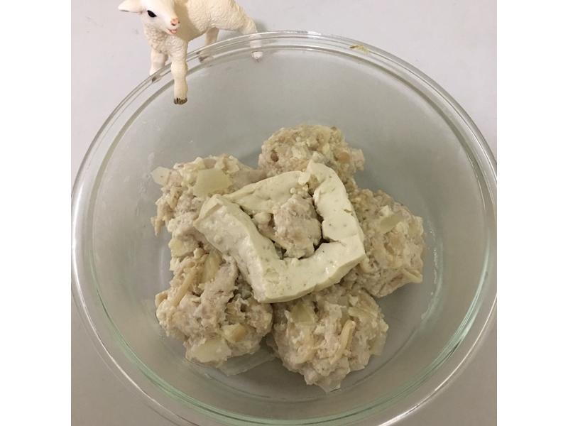 <電鍋料理>雞肉豆腐丸子 減重低熱量
