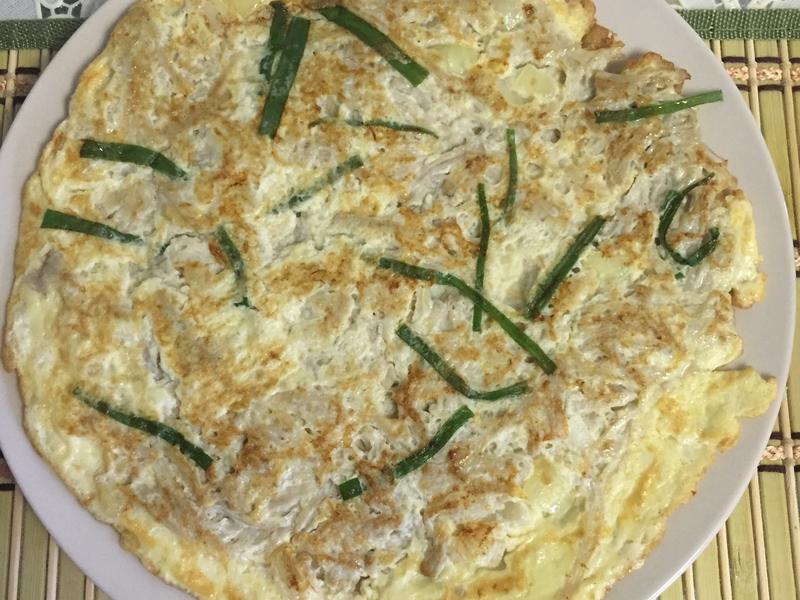 韓式金針菇煎蛋