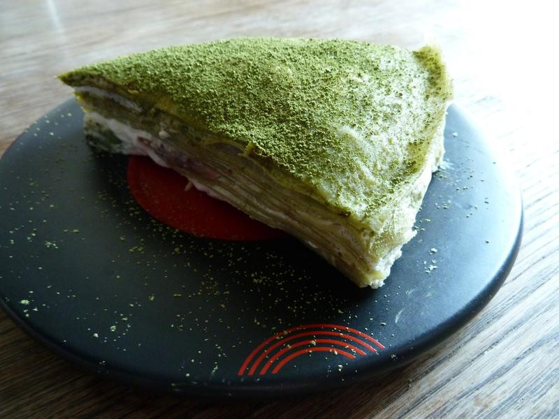 超綿密的抹茶千層水果蛋糕