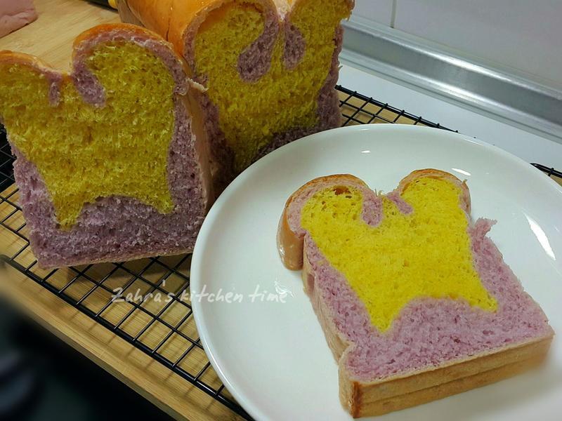 湯種紫薯南瓜吐司