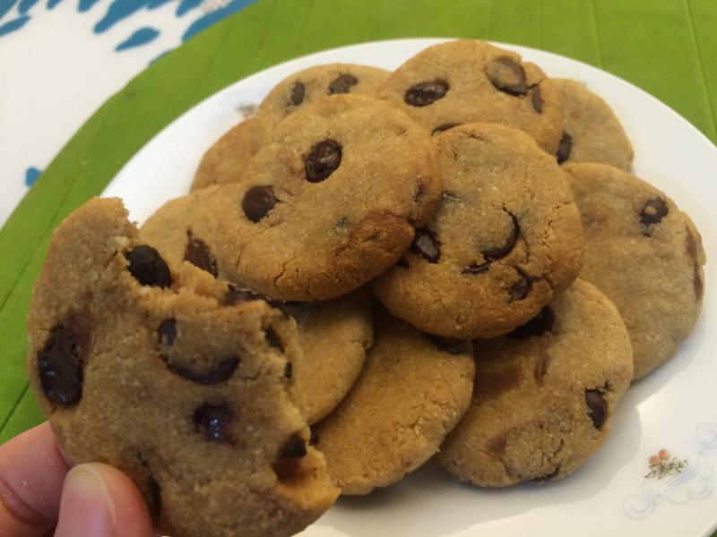 無麵粉烘培-可可豆餅乾
