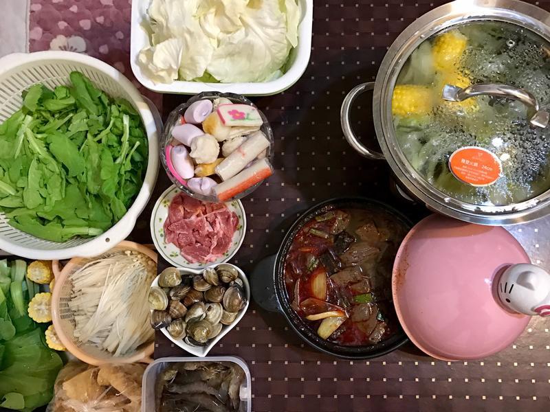 鴨米煲&昆布鍋