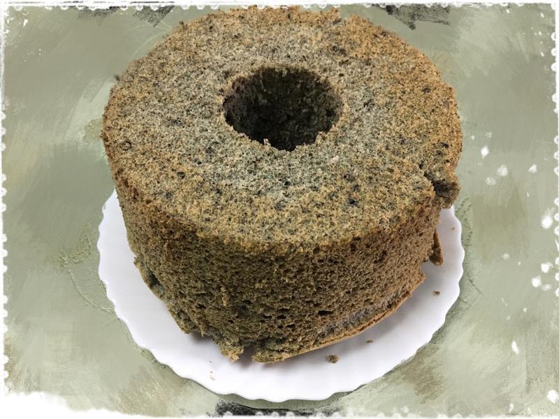 現磨黑芝麻戚風蛋糕